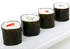 A Row of Sushi